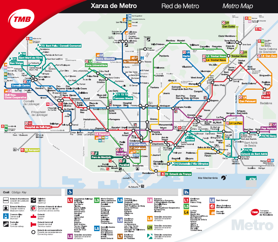 Nit Bus Barcelona Mapa.The Top 10 Apps For Getting About In Barcelona Tradel