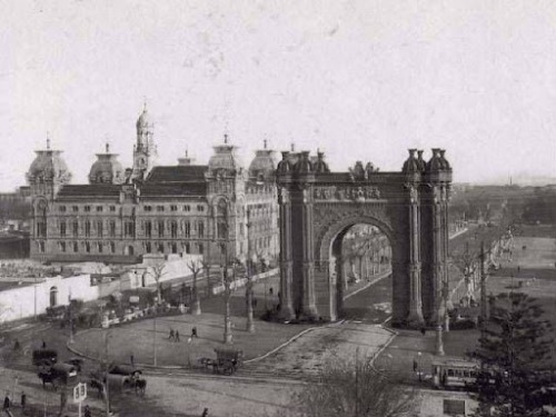 Arc de Triomf Barcelona 1900-1930