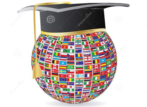 http://www.dreamstime.com/stock-image-world-flags-graduation-image14586231